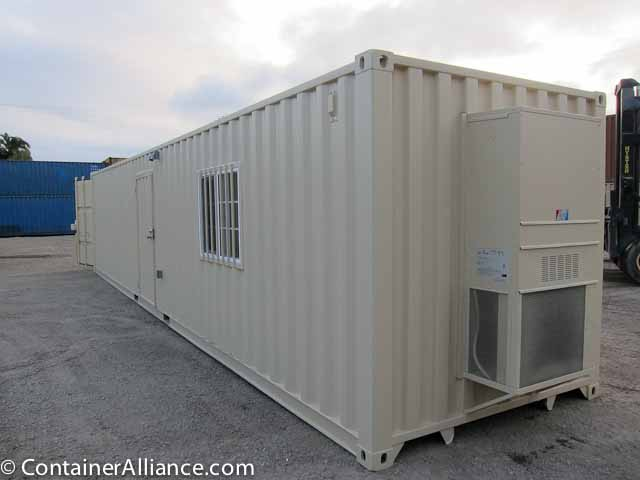 Shipping Container Office 40ft Combo