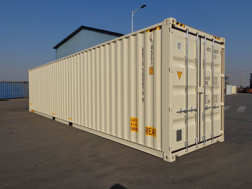 40 Shipping Container >> 40 High Cube Double Door One Trip Container