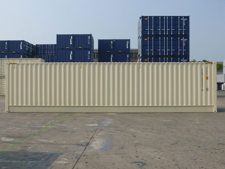 40ft High Cube Open Side One Trip Shipping Container