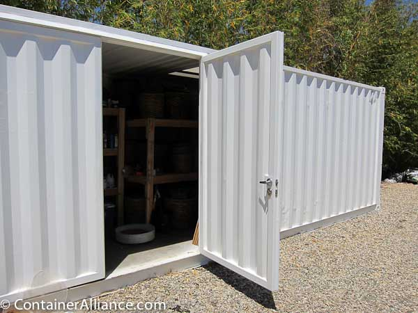 Shipping Container Modifications Steel Corrugated Doors